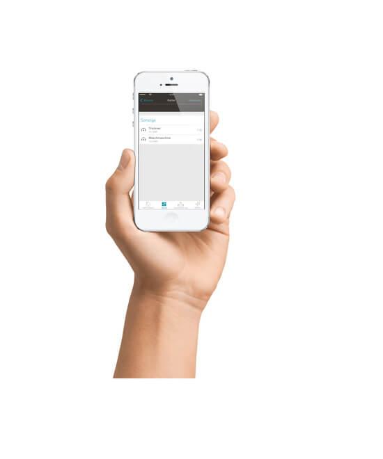 eNet SMART HOME app op een smartphone