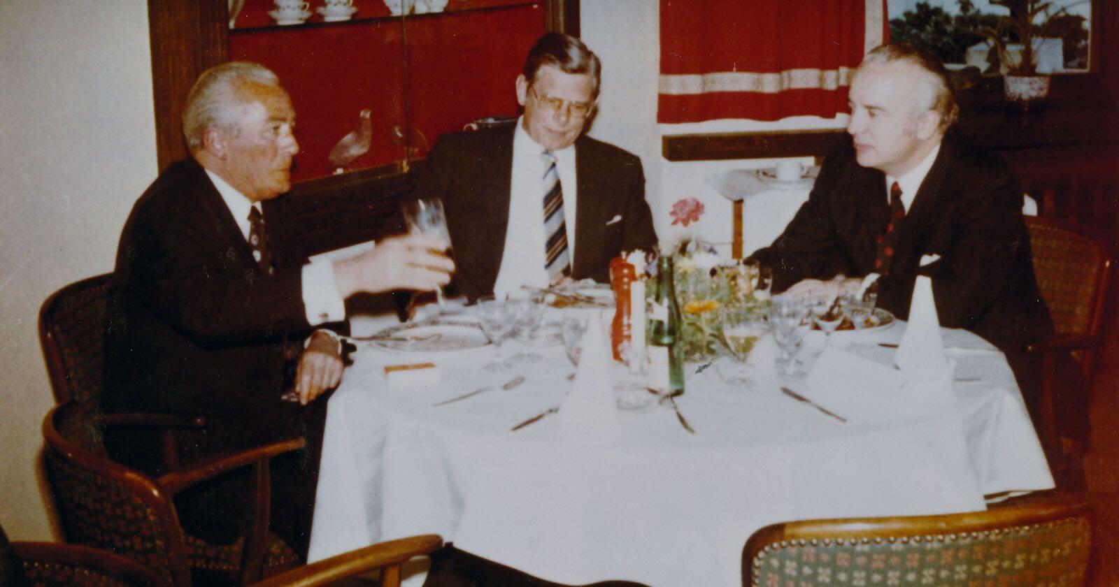Siegfried Jung, Friedrich Berker und Werner Giersiepen