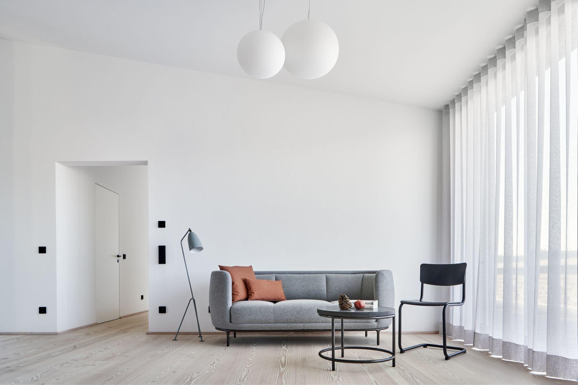 Loft H Köln Wohnzimmer Sofa