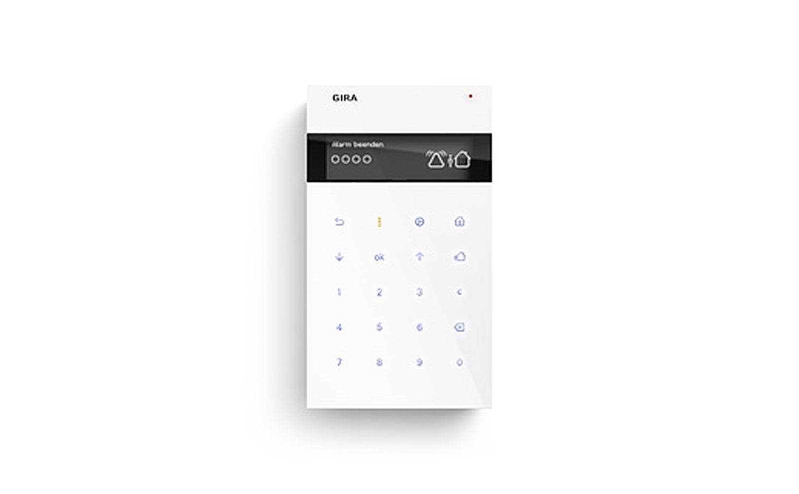 Gira Sicherheitssystem Alarm Connect Funk Bedieneinheit