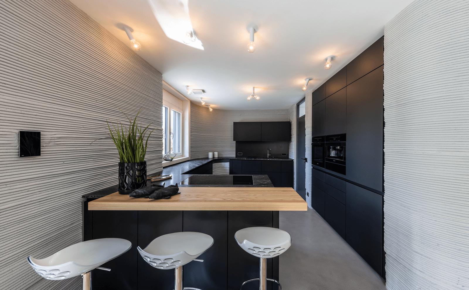 3D-Druckhaus Küche