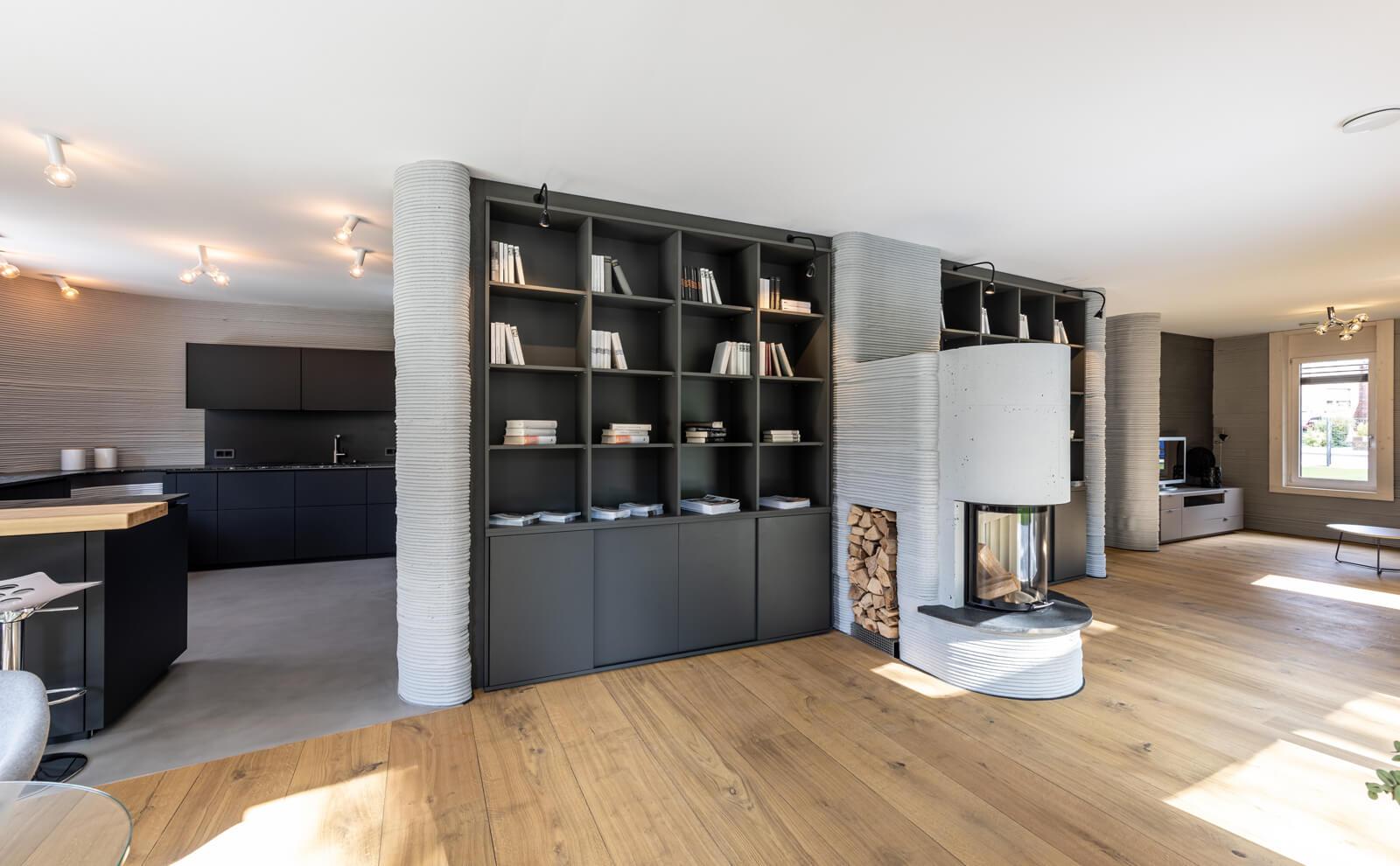 3D-Druckhaus Wohnbereich