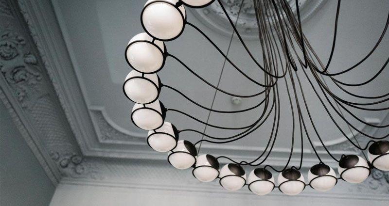 Stilwerk Hotels Heimhude Deckenbeleuchtung