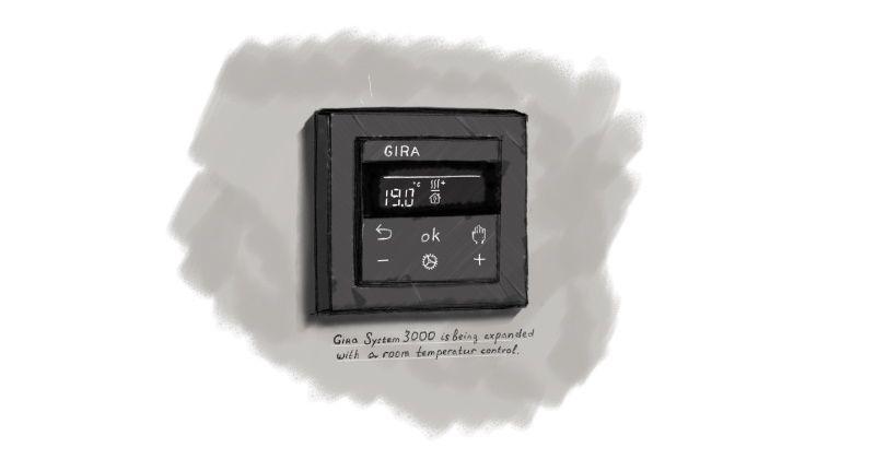 Gira Zeichnung System 3000