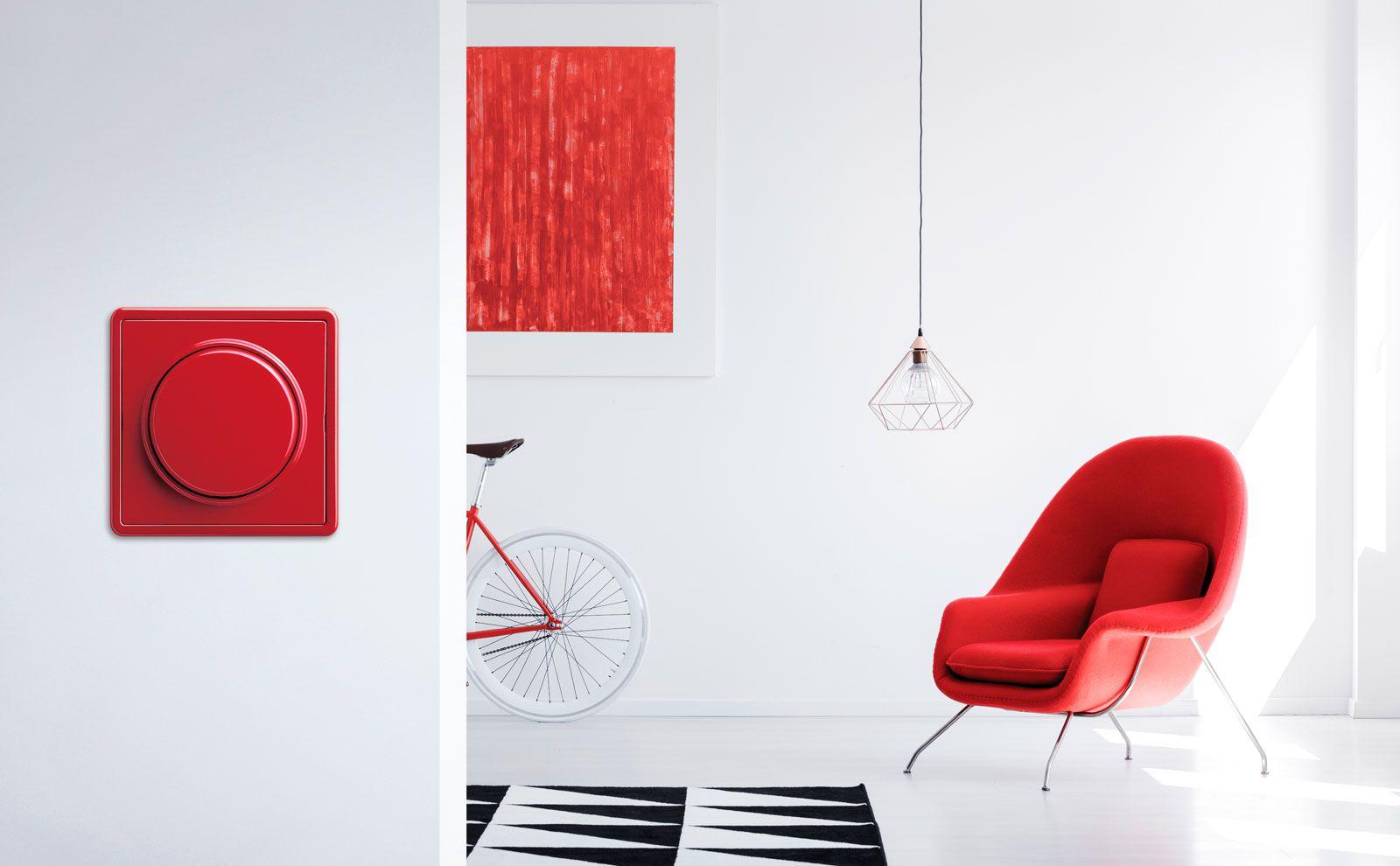 Gira S-Color in Rot