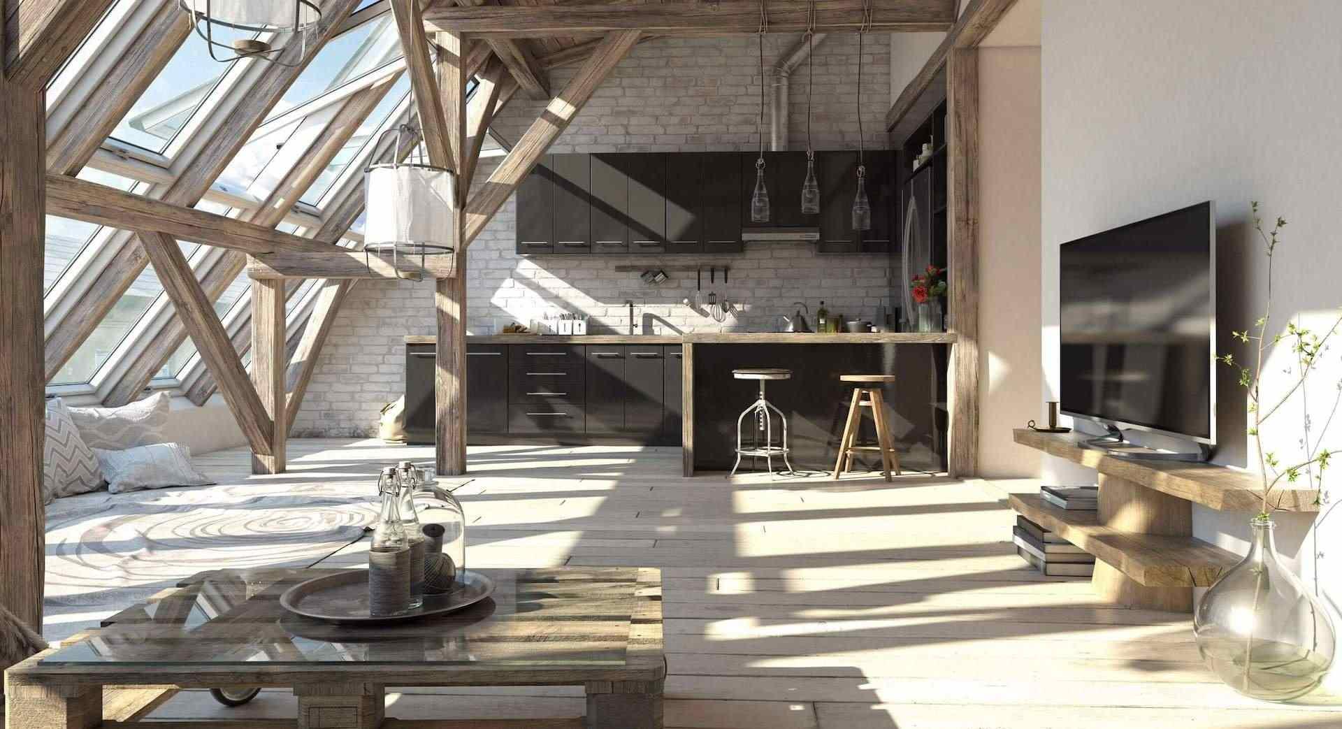 Wohnküchen im Industrial Style