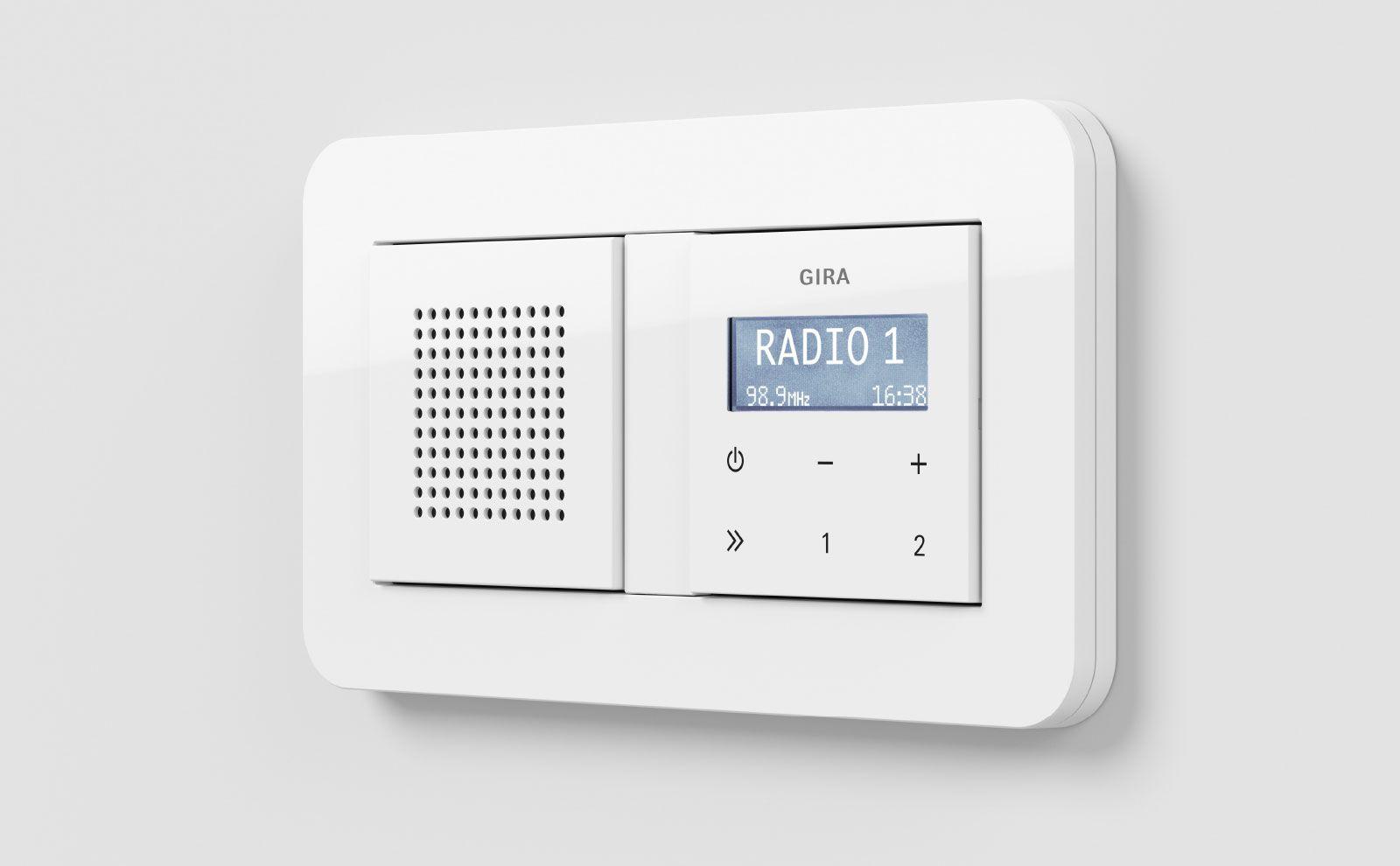 Gira Radio mit Lautsprecher