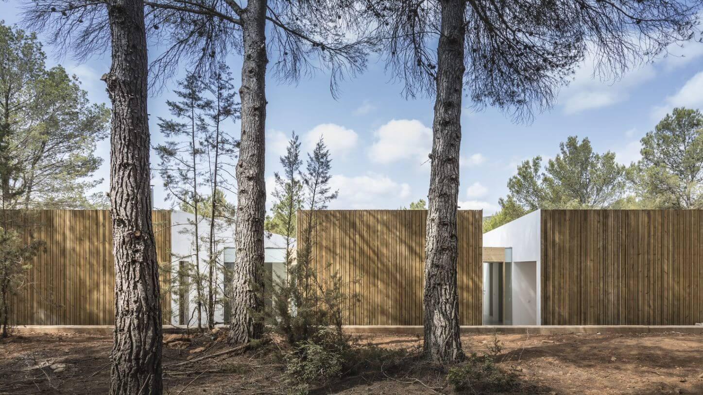 Ca L'amo Architektur von Aussen