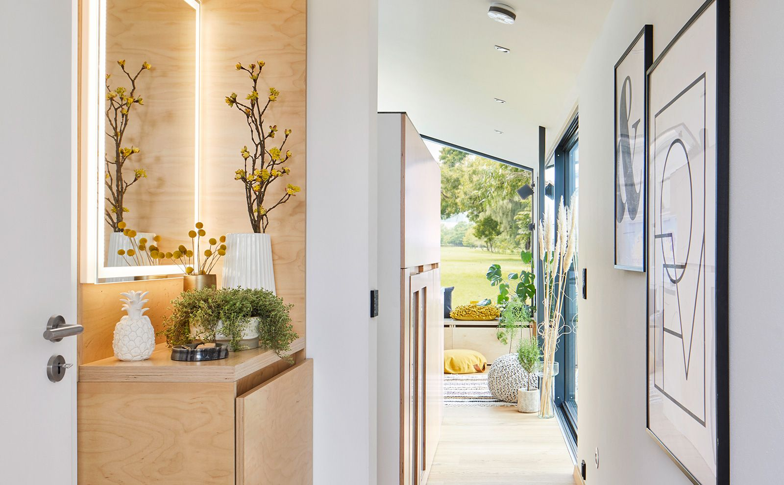 Innenflur Wohnglück Smart Haus