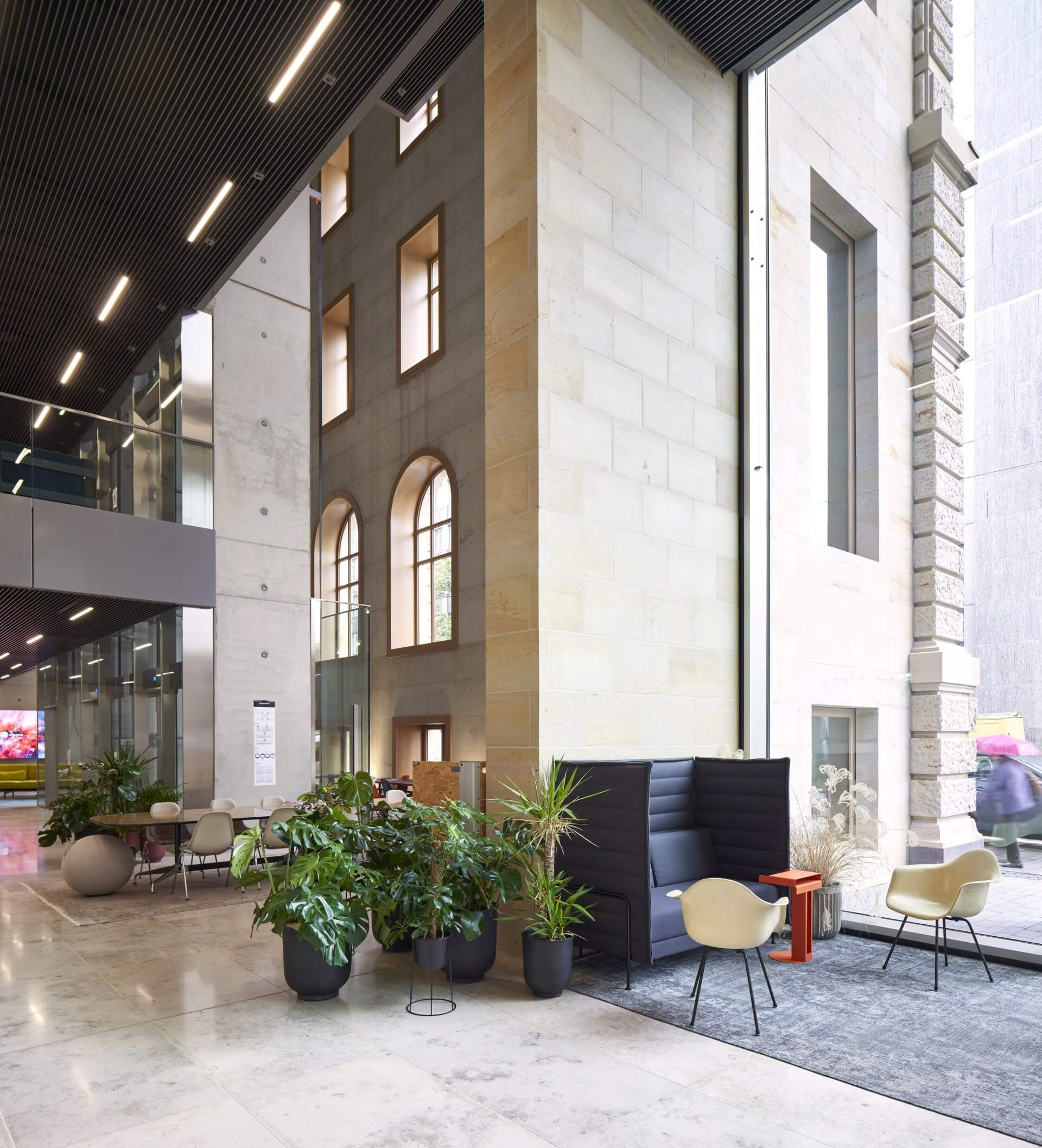 Design Offices Düsseldorf Innenansicht