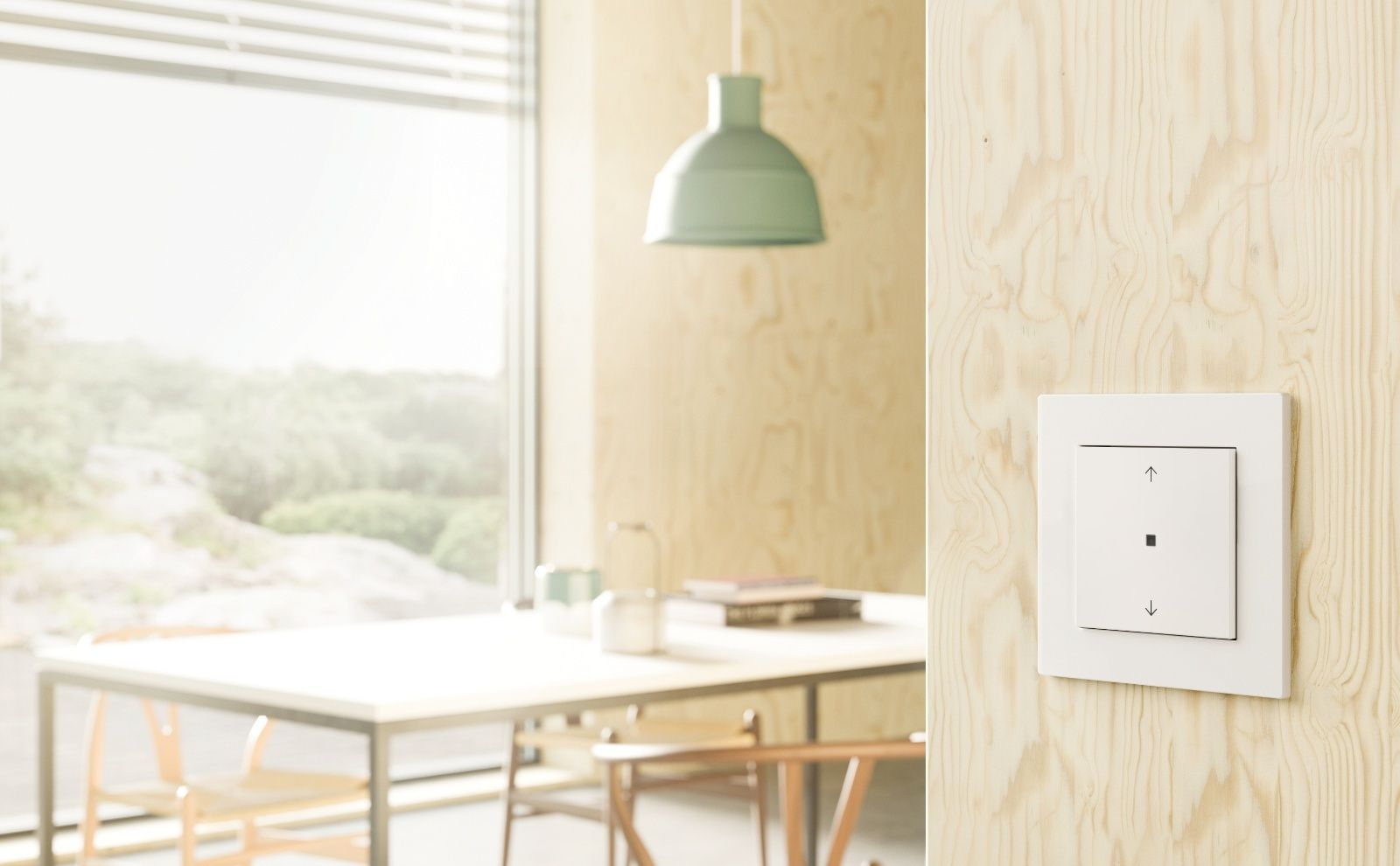 Gira eNet SMART HOME Bedienaufsatz 1fach
