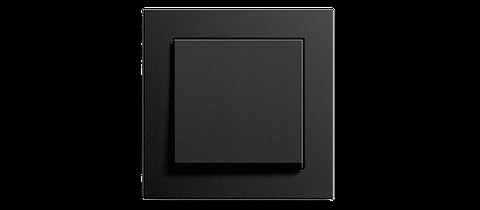 Gira E2 Schalter in Schwarz