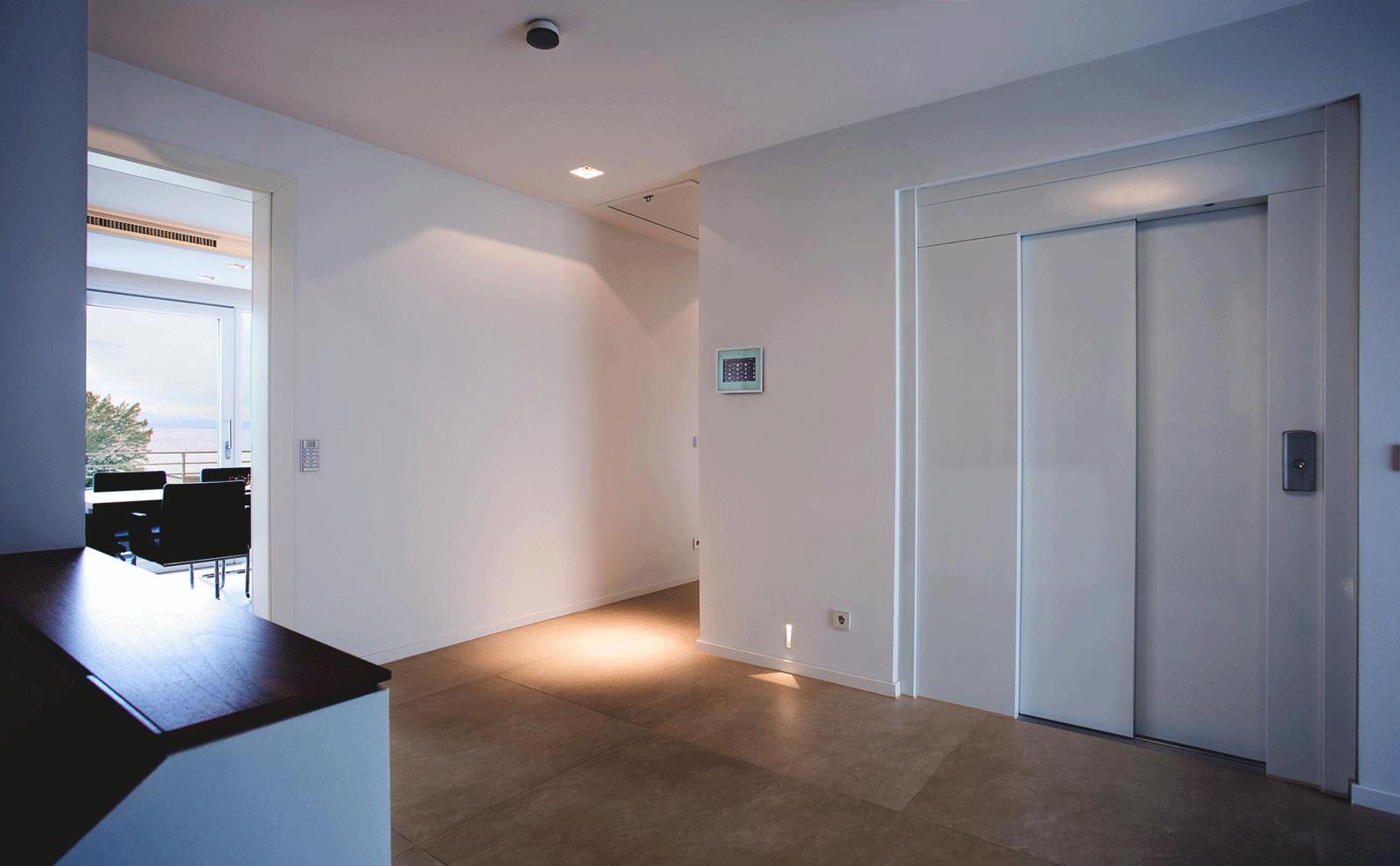 Gira Client im Obergeschoss