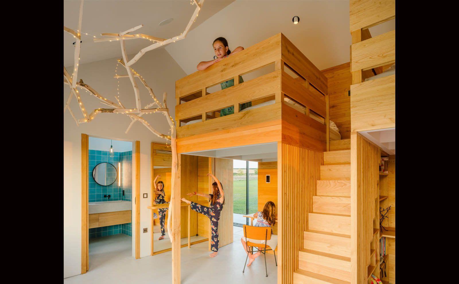 FriendsHouse_Hampshire Kinderzimmer