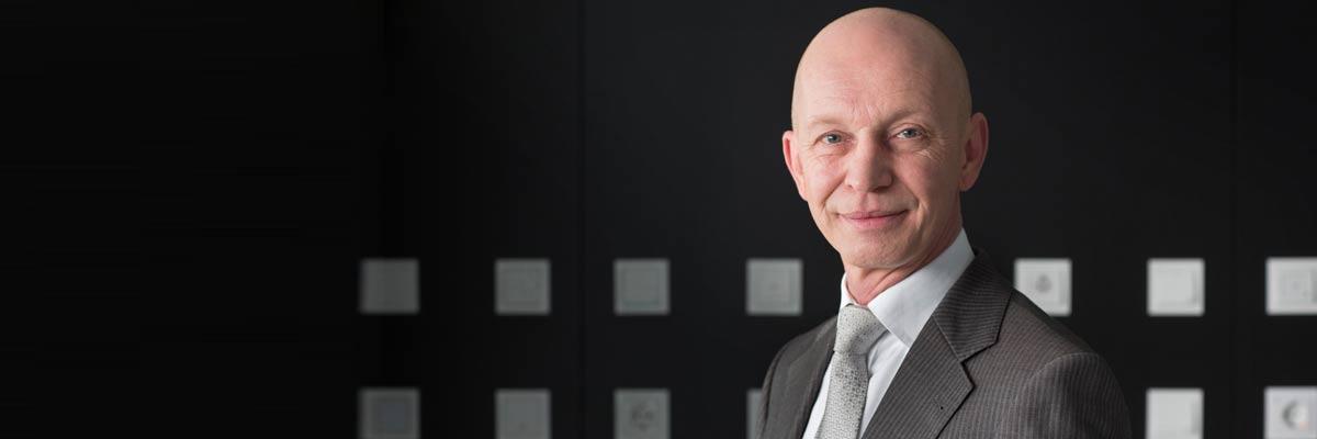 Gira Produktmanager Hans-Dieter Pfender