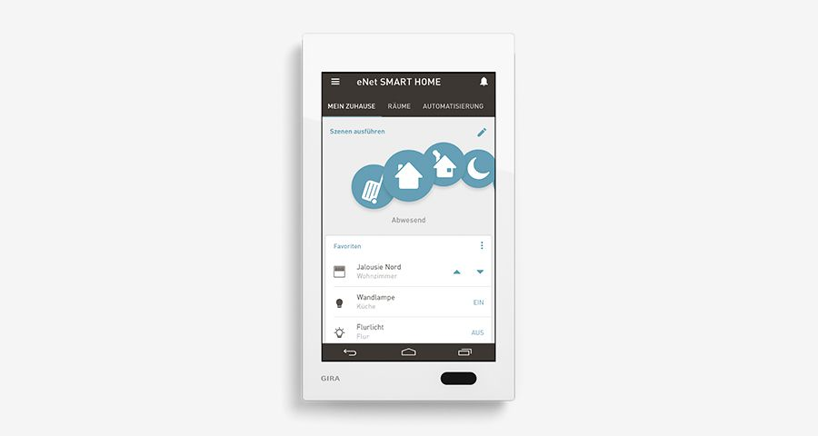 Gira G1 als eNet SMART HOME Client