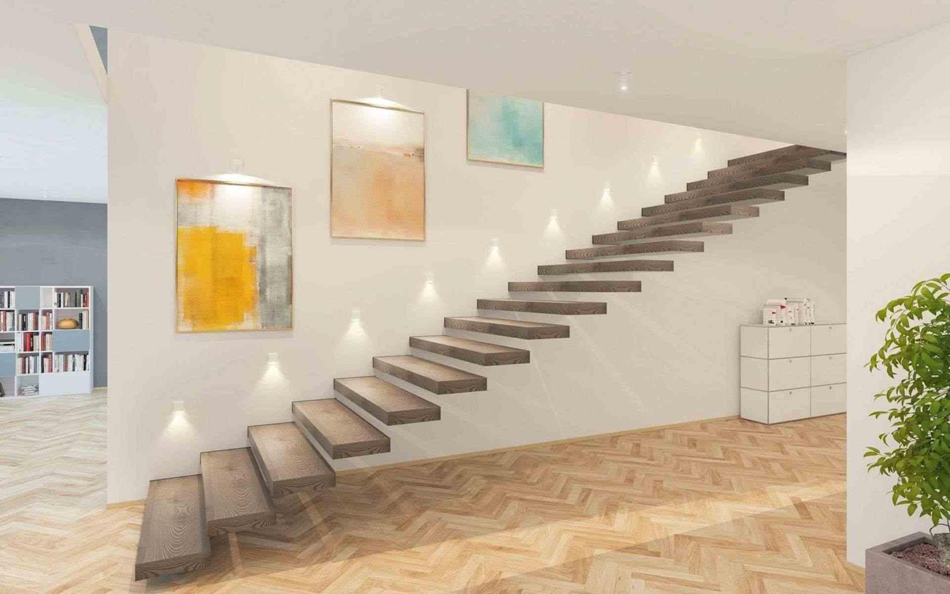 plug and light als Orientierungsleuchte an der Treppe