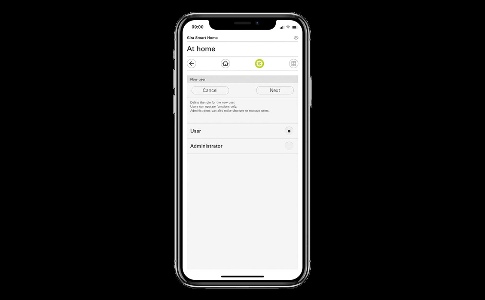 Gira X1 iPhone App