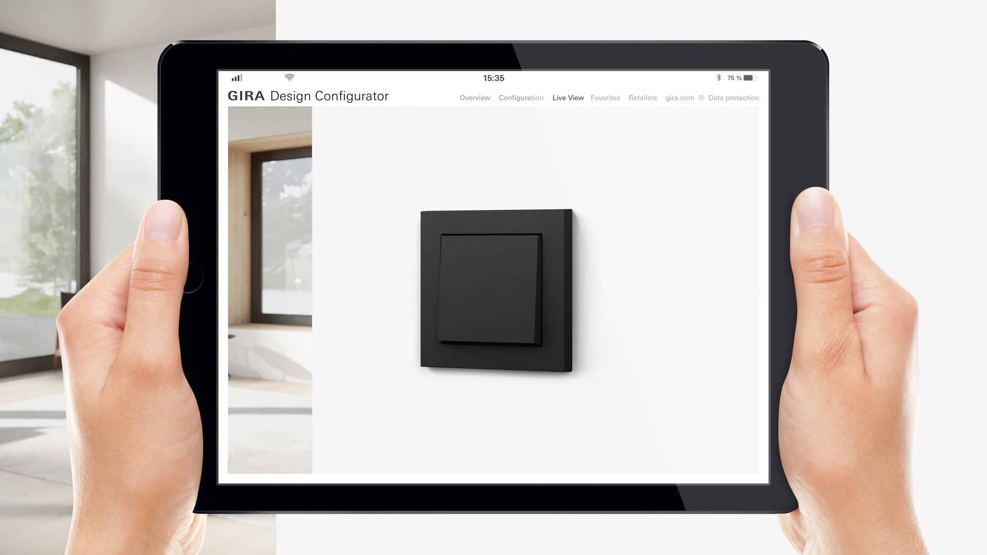 Gira design configurator