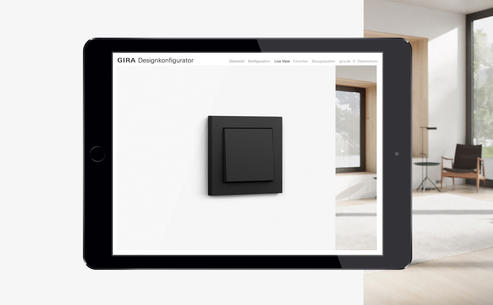 Gira Designkonfigurator