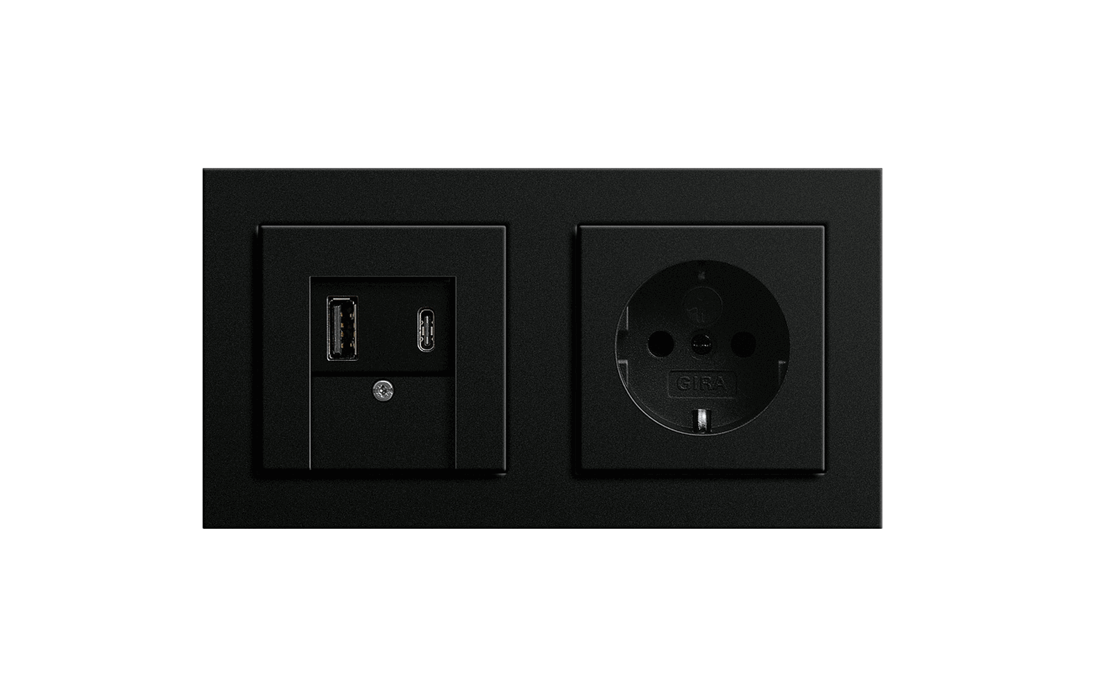 Gira SCHUKO-Steckdose mit USB A & C