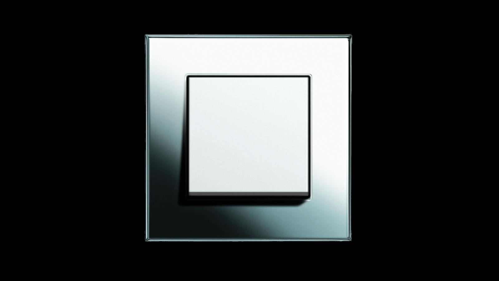 Gira Esprit Glas Weiß
