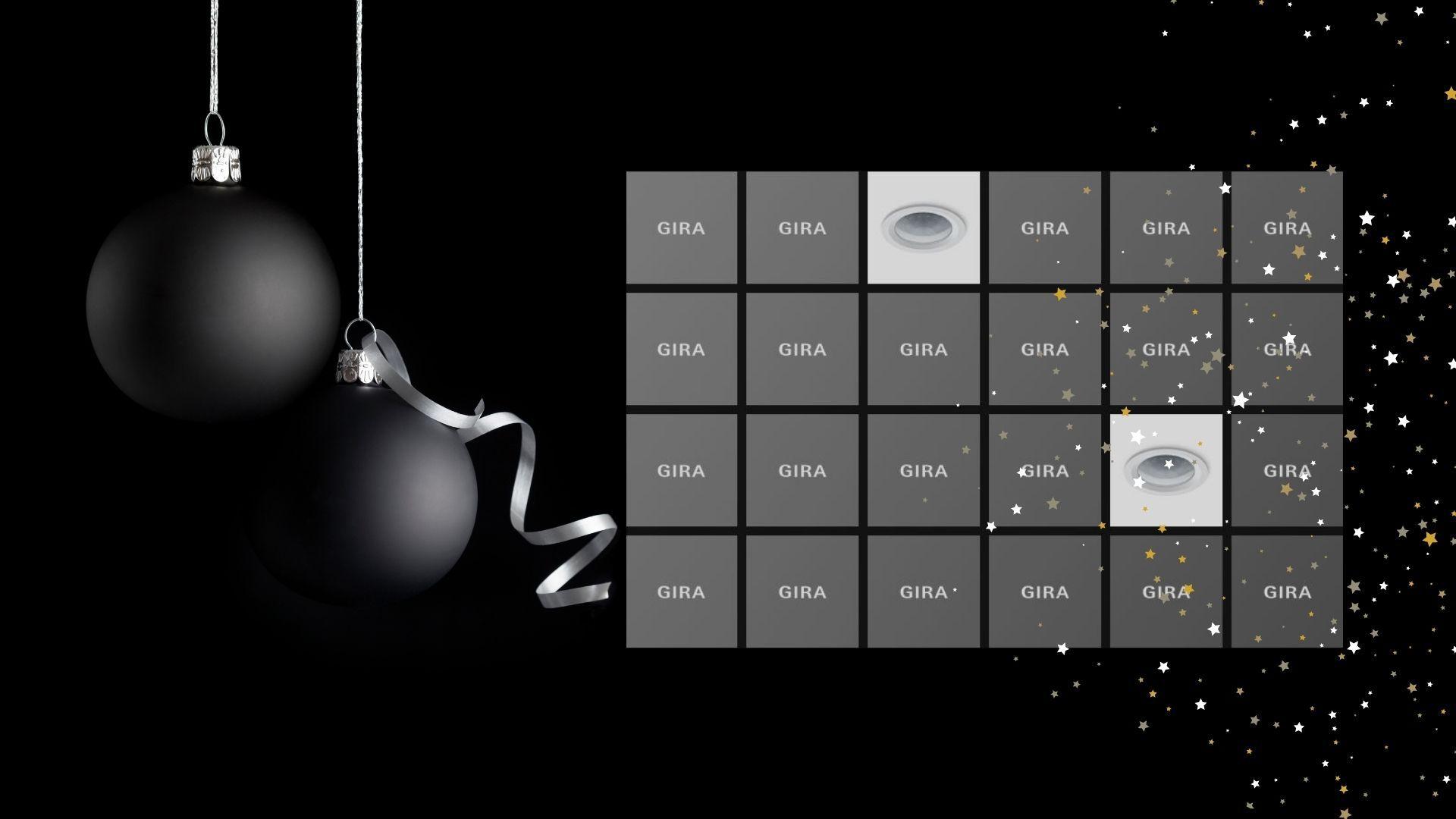 Gira Memory - Das Gewinnspiel für die Adventszeit