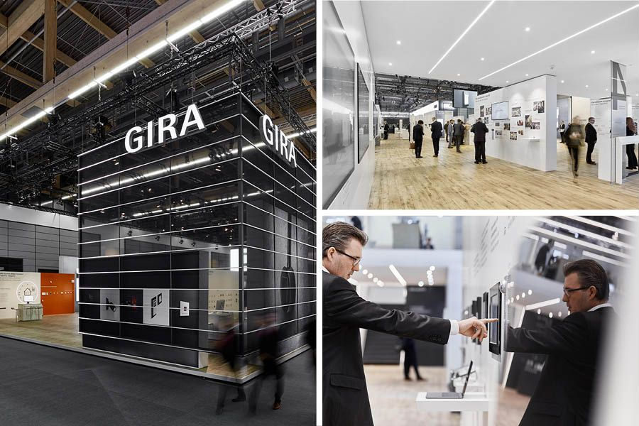 Gira Messestand Light and Building 2018