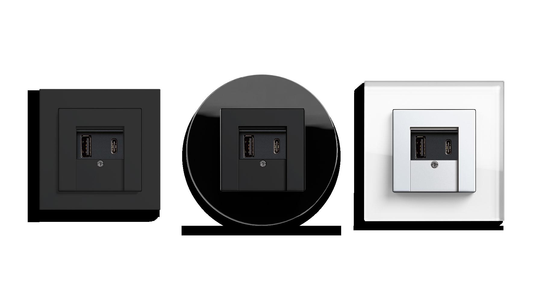 Gira USB-Spannungsversorgung A&C