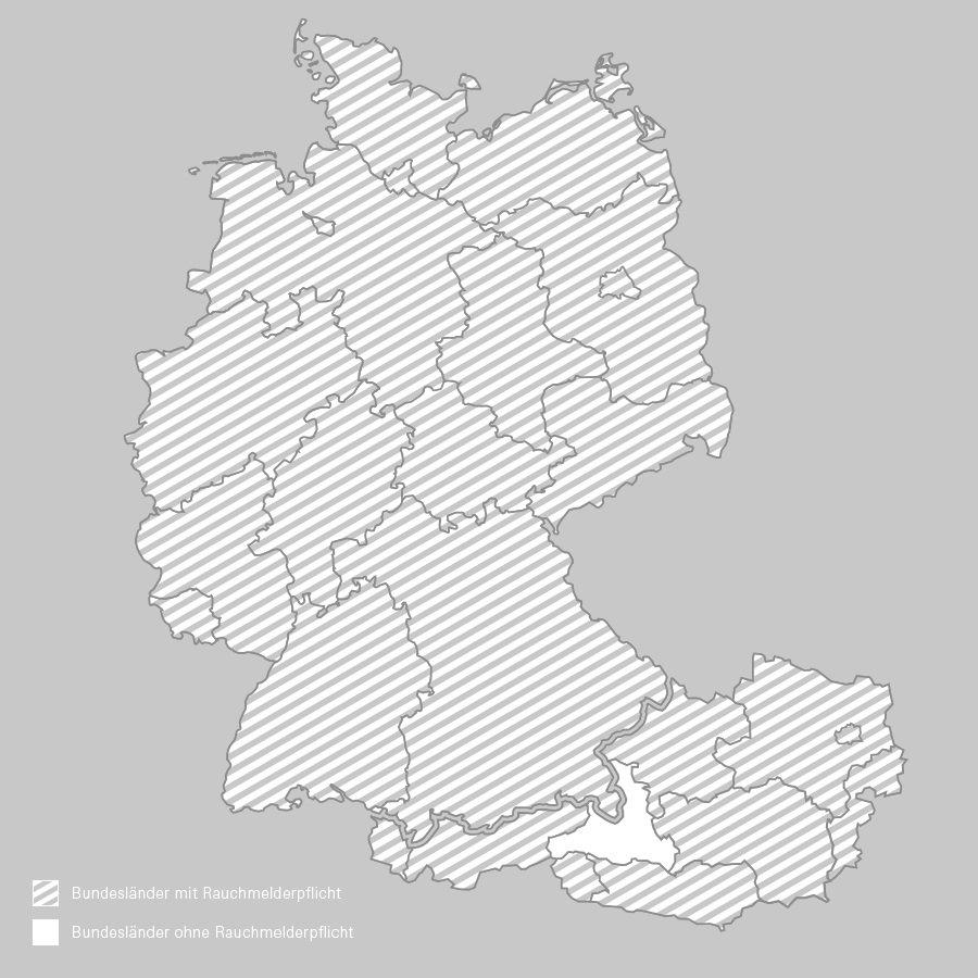 Rauchmelderpflicht In Manchen Bundeslandern Besteht Eine