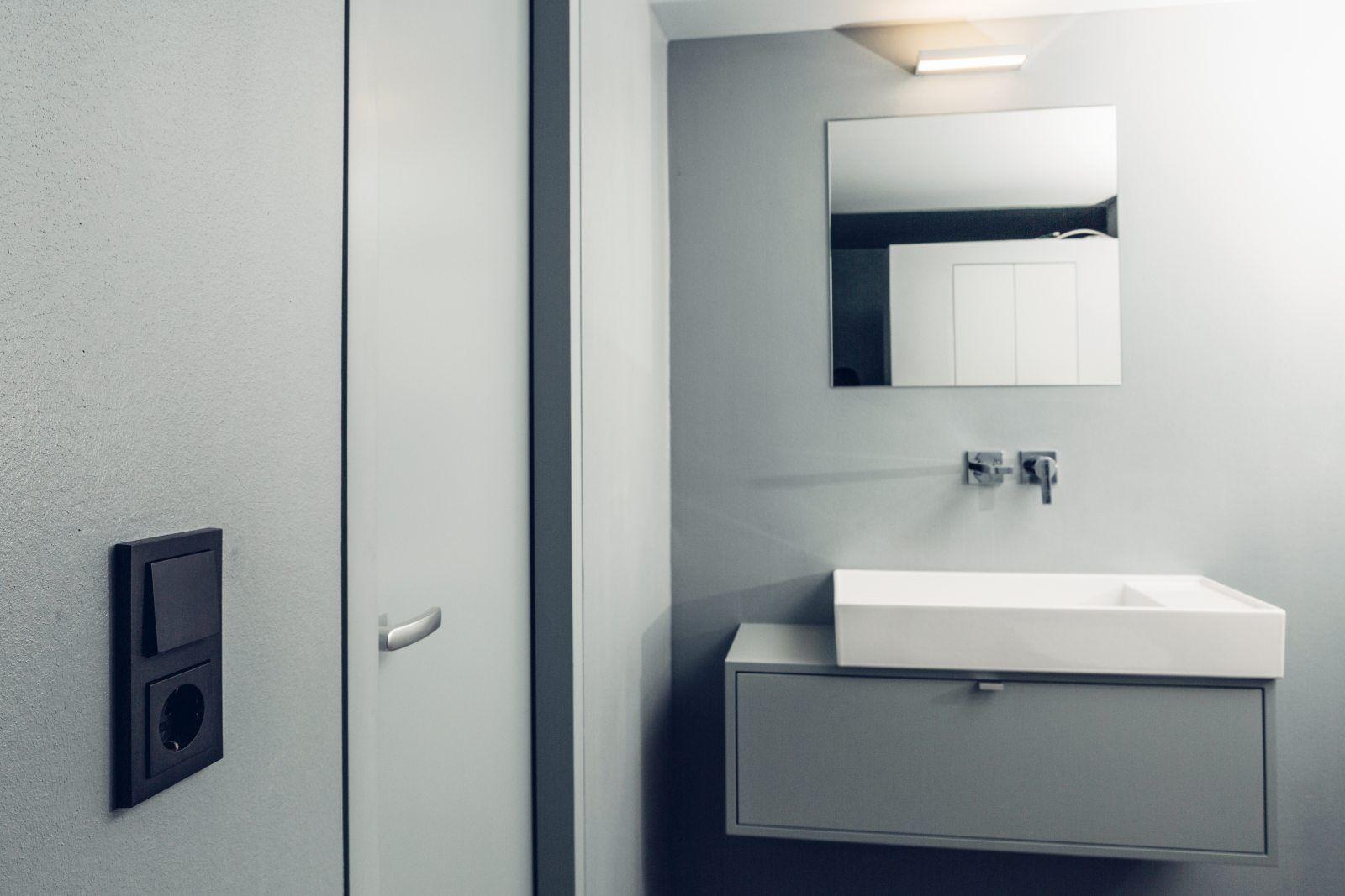 Berührungspunkte Wohnhaus Lübeck Badezimmer