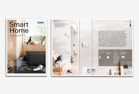 Gira Smart Home Broschüre