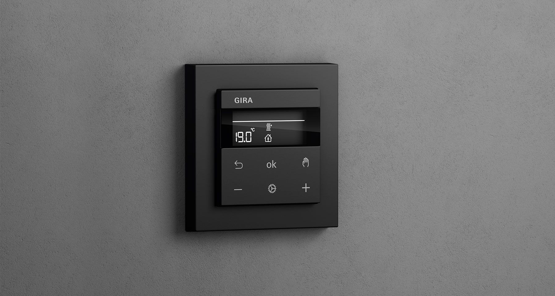 Gira System 3000 Raumtemperatur-regler