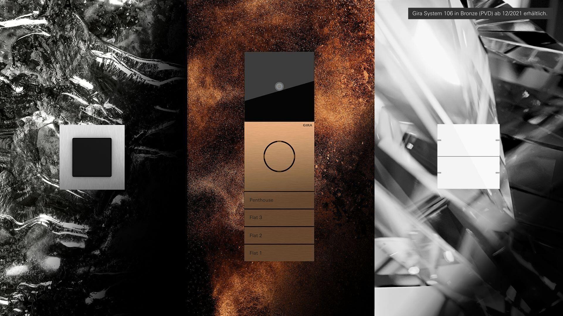 bronze material & design kampagne