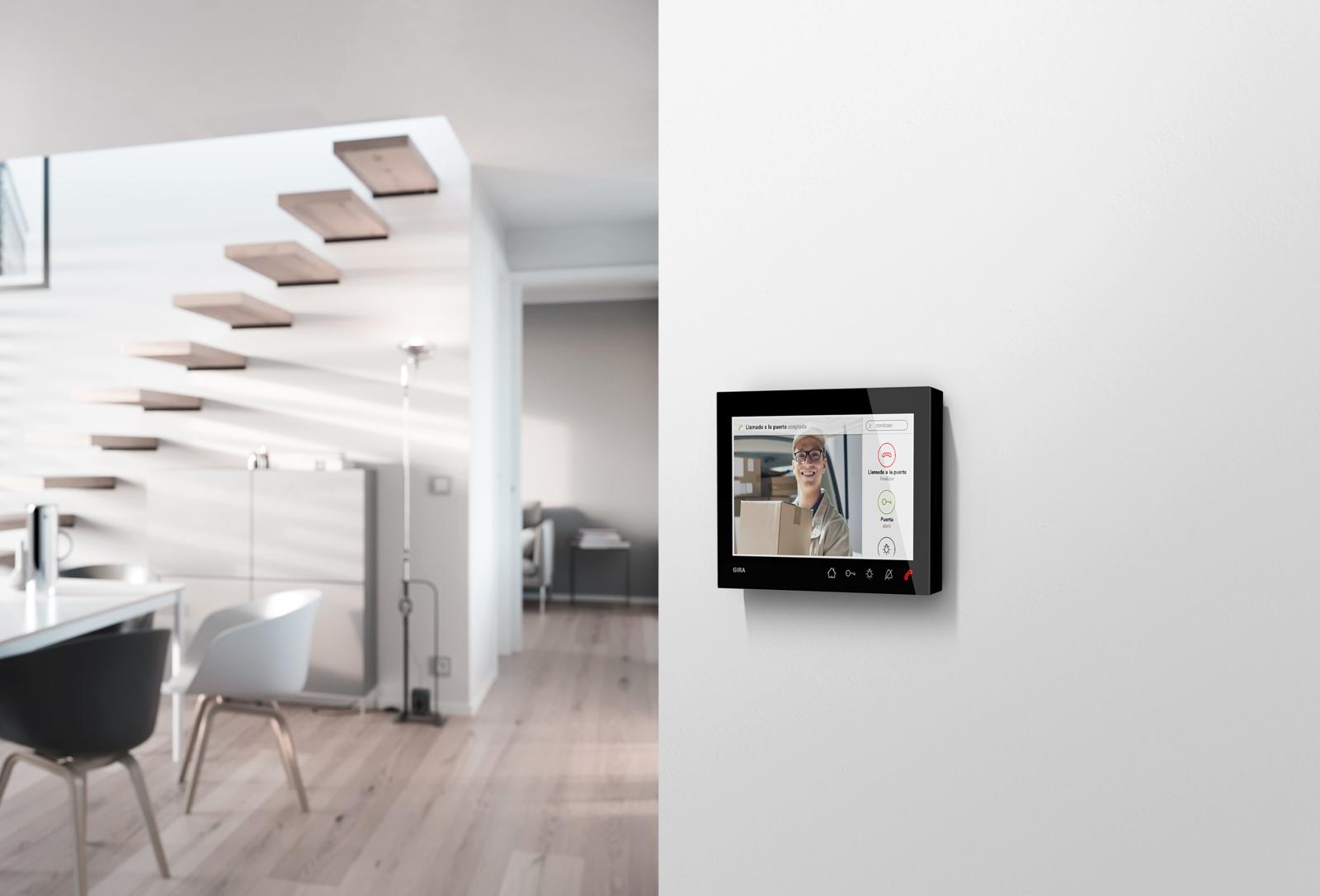 Gira Produkt Wohnungsstation Video AP7 Schwarz