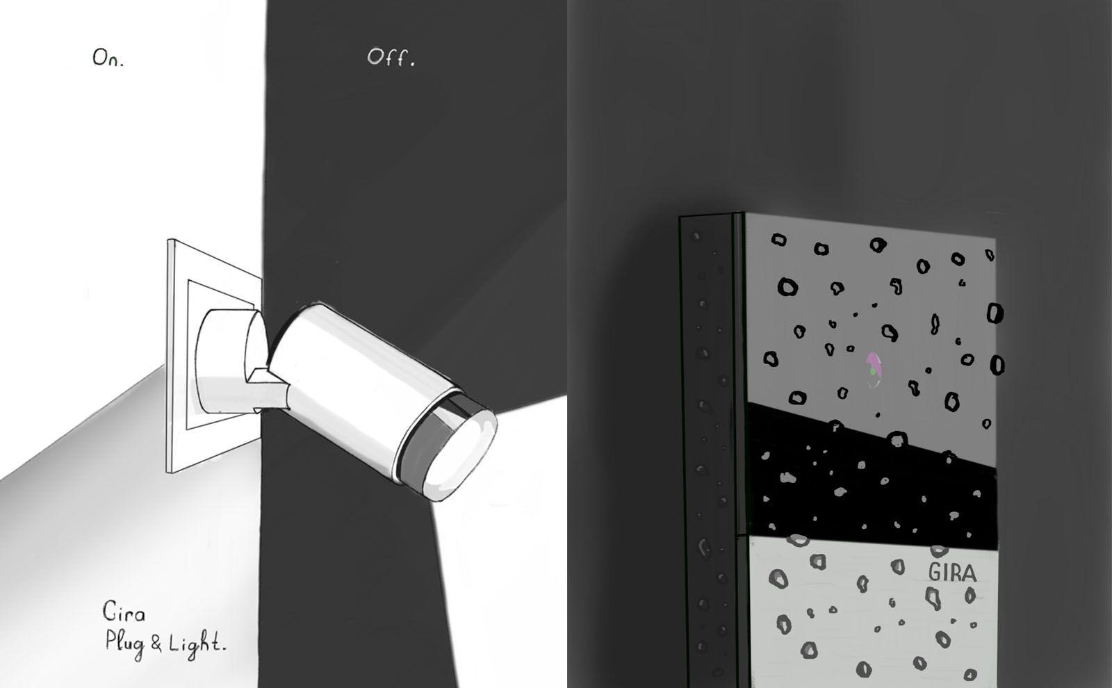 Gira Zeichnungen by Alexey Korolevich