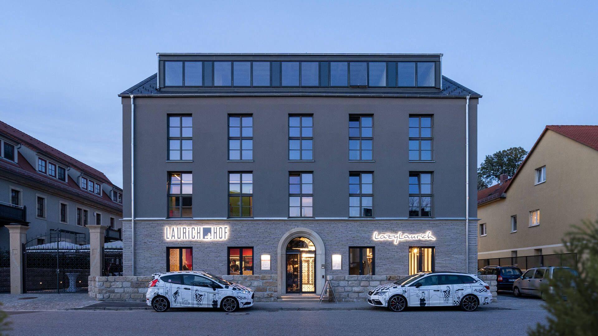 Hotel Laurichhof Aussenansicht