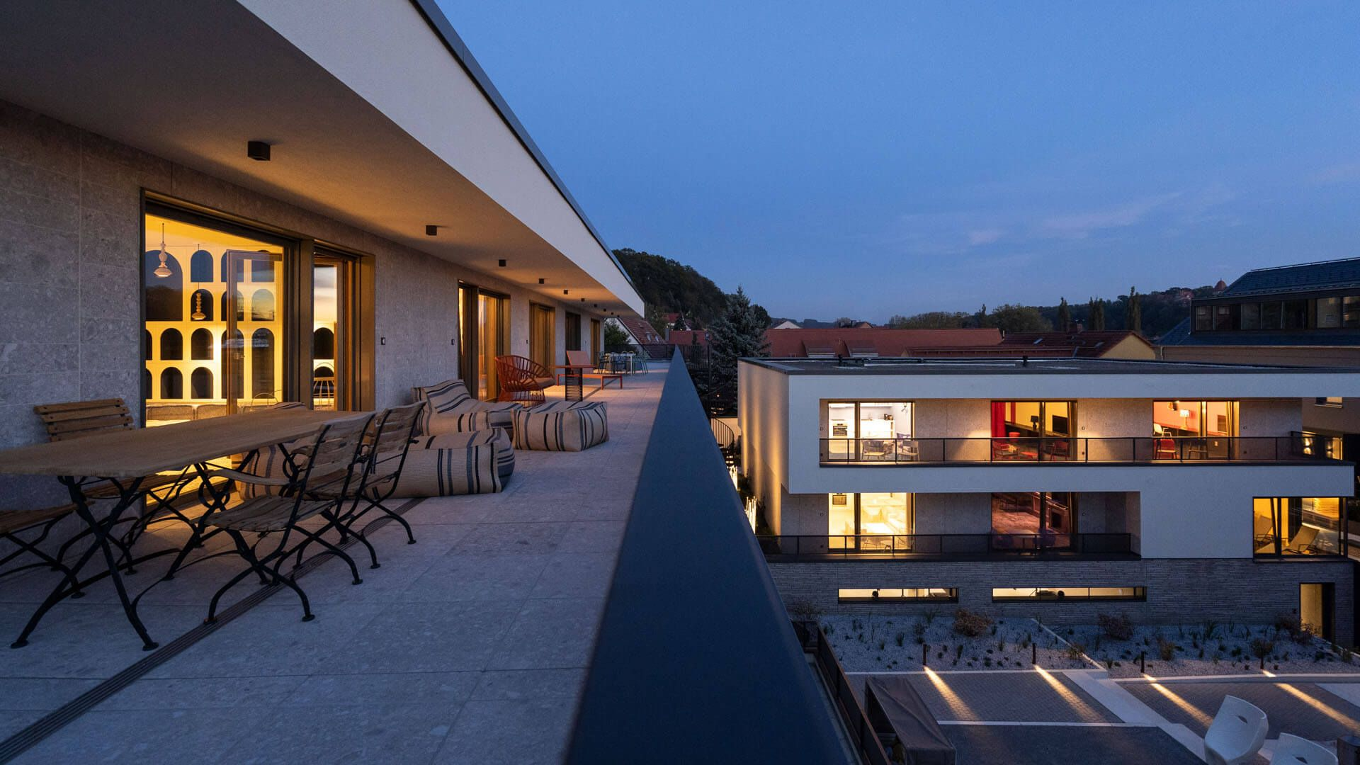 Hotel Laurichhof Dachterrasse