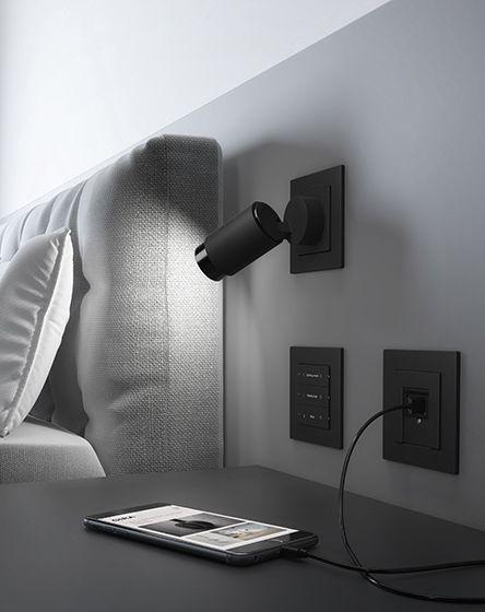 Gira Plug & Light Anwendung Hotelzimmer