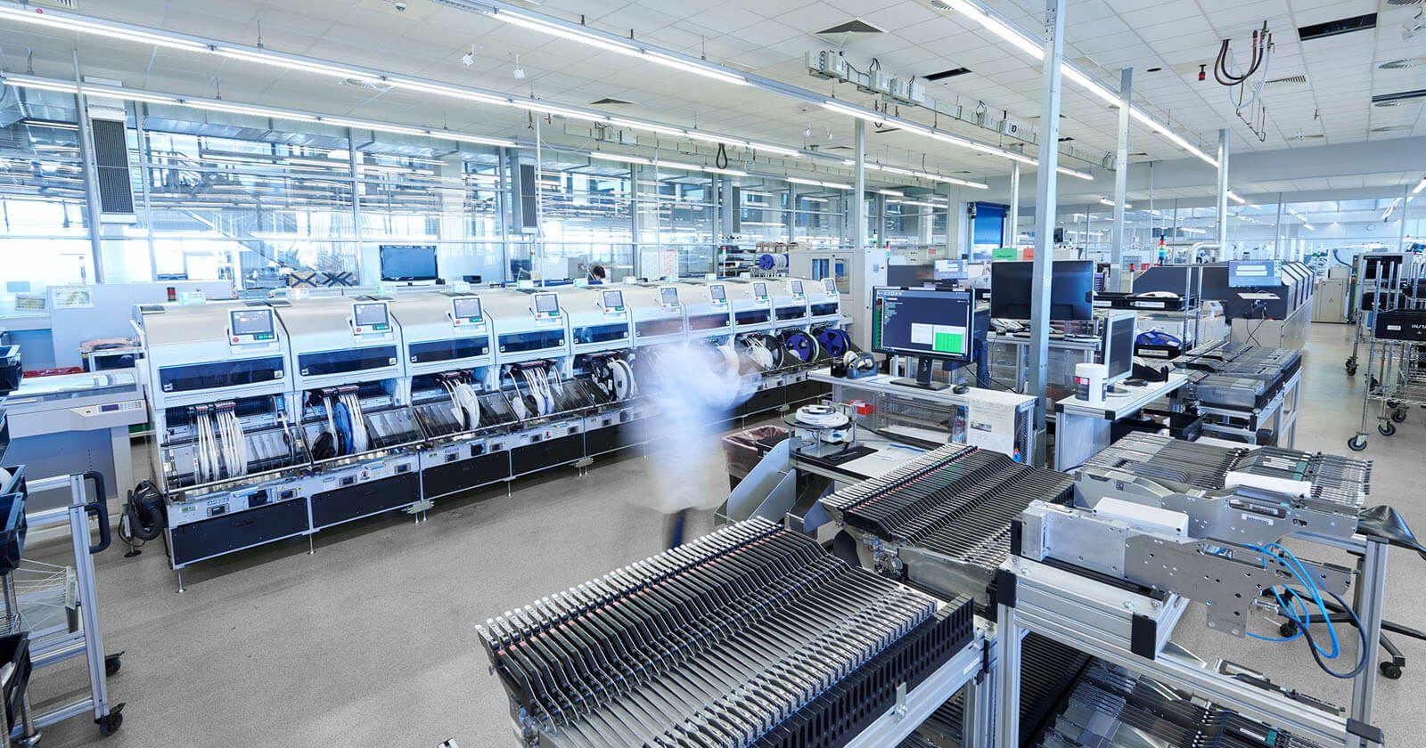 Insta Produktionsräume in Lüdenscheid