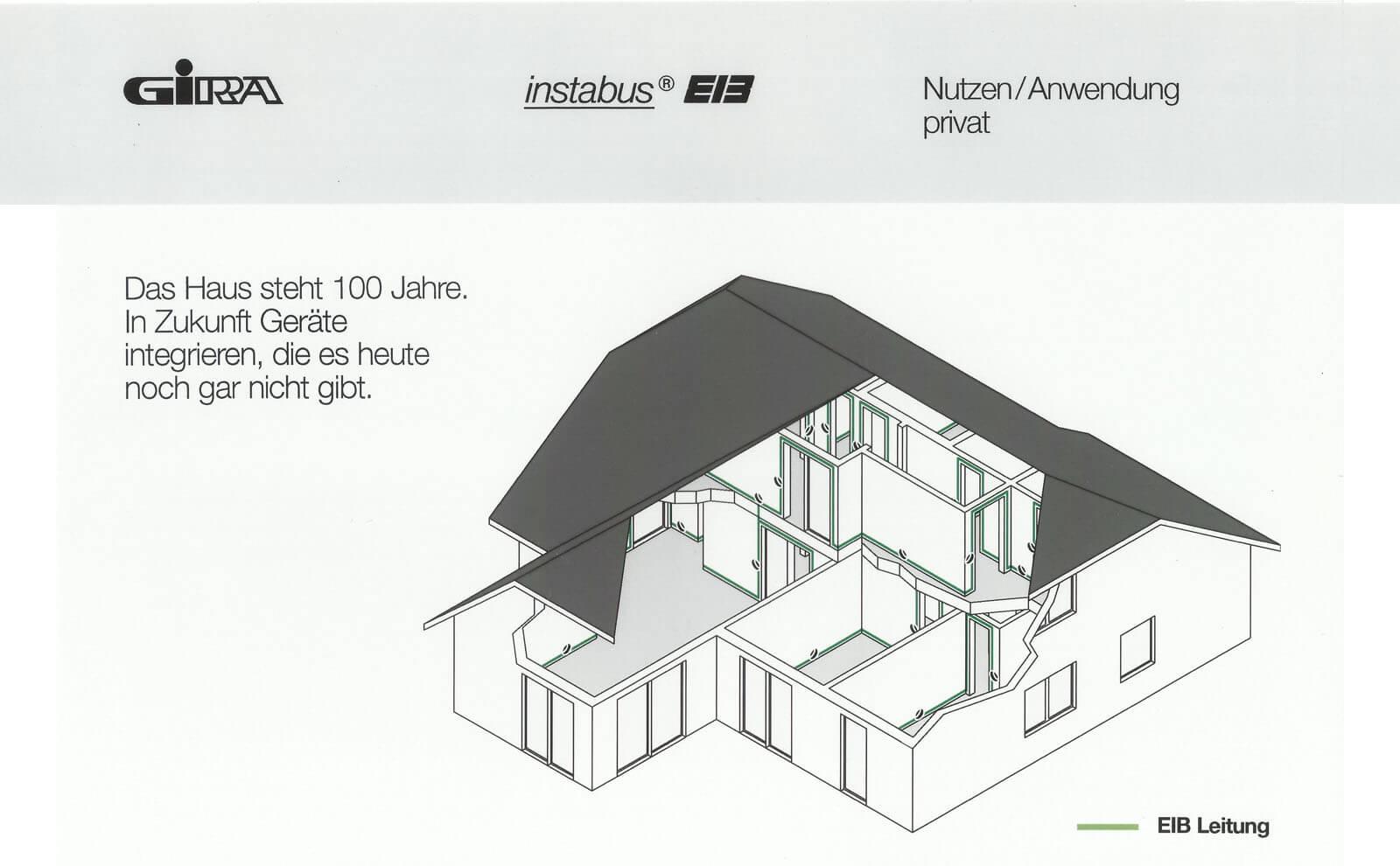 Gira Instabus EIB Prospekt Abbildung