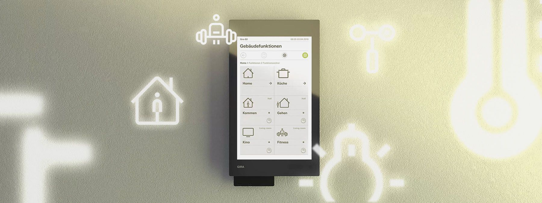 Gira KNX Smart Home Video Teaser