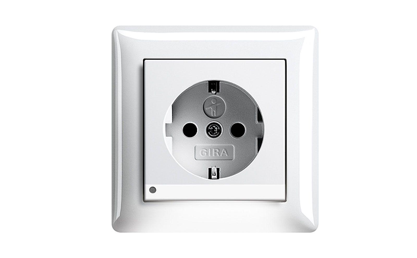 LED-Orientierungsleuchte im Standard 55 Rahmen