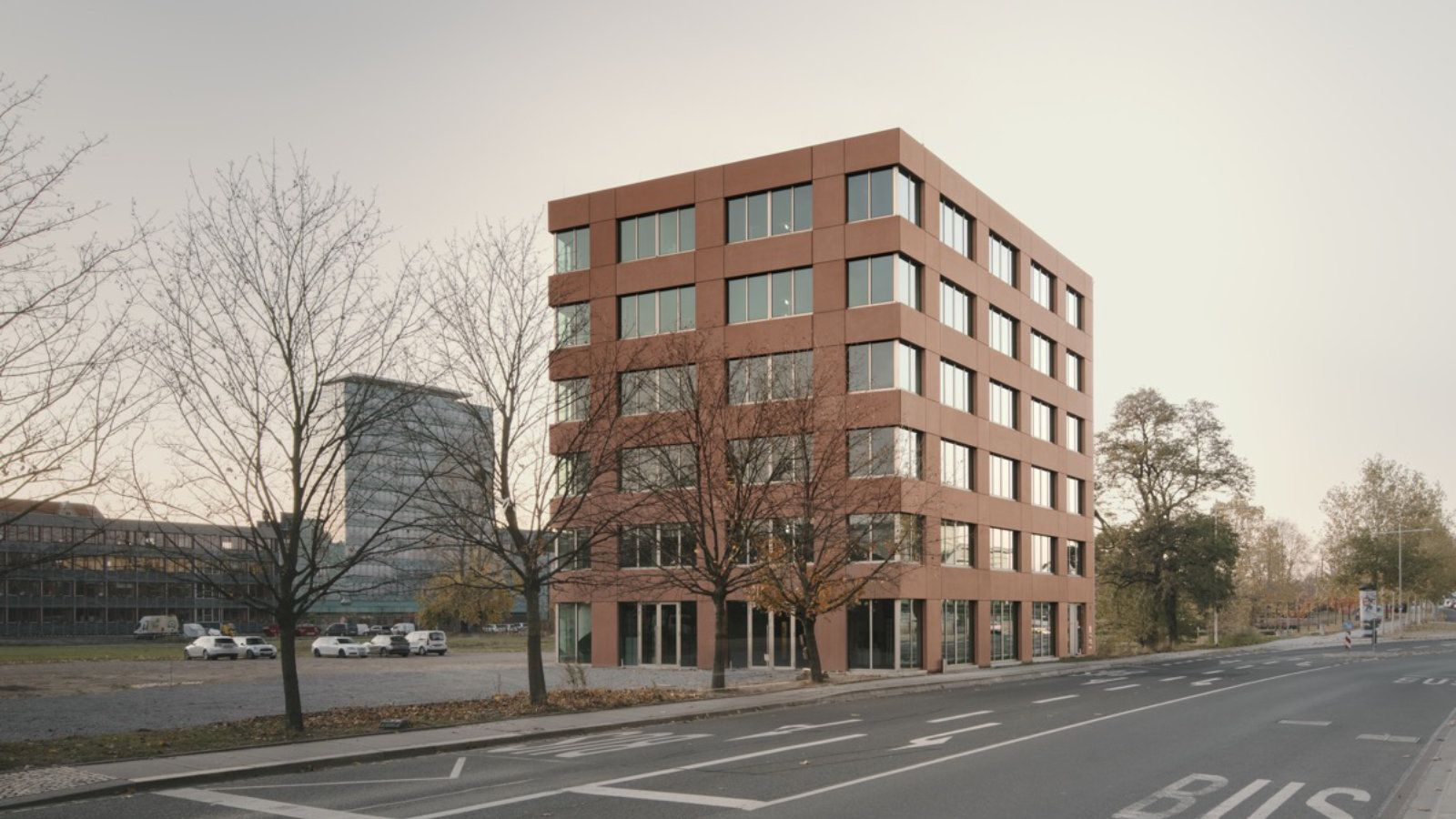 Herbert-Wehner-Haus Außenfassade Jan Wiese Architektur