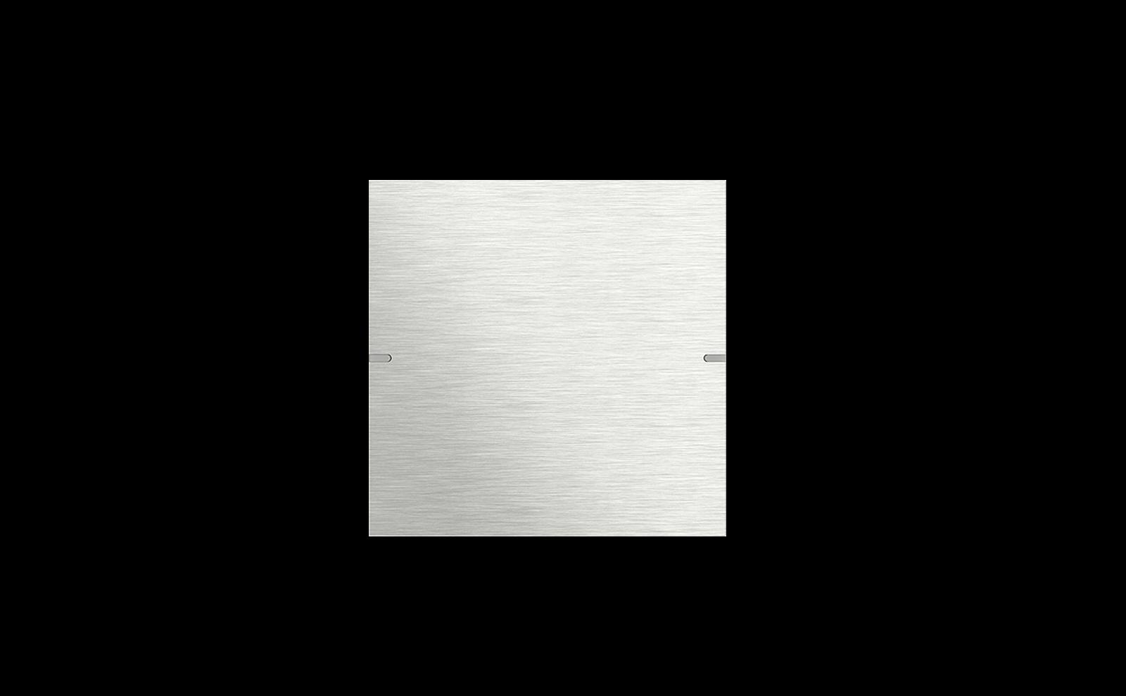Gira Tastsensor 4 mit Wippenset 1fach aus Edelstahl