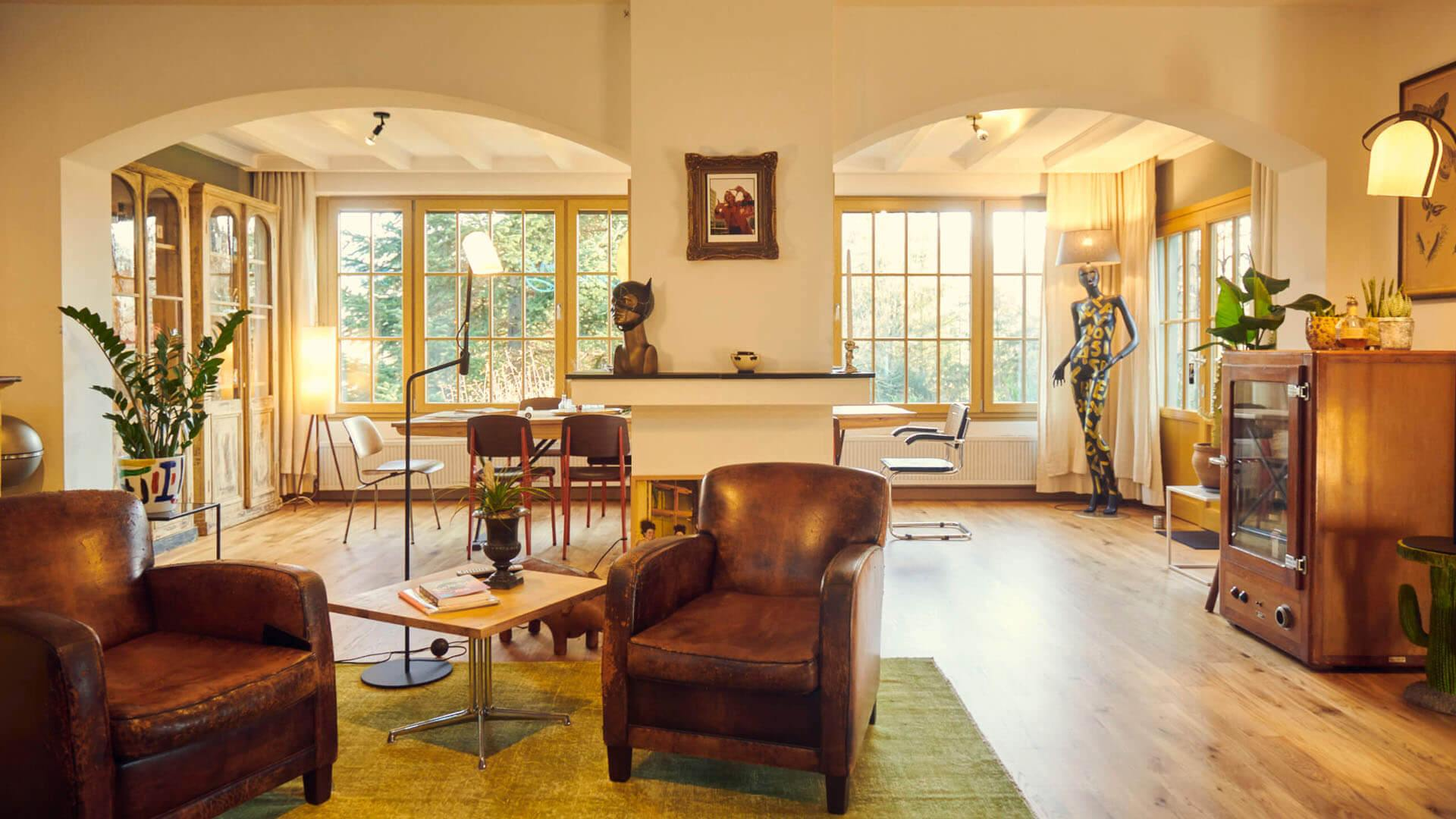 Adenauer Haus Vintage Interior