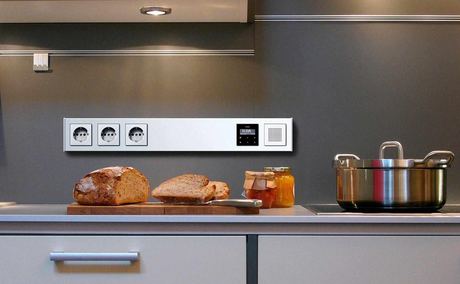 Gira Radio in der Küche