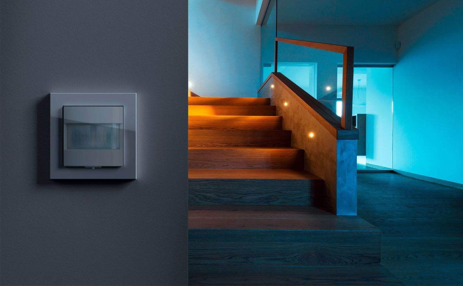 B2C Website Gira Bewegungsmelder Gira System 3000 Lichtsteuerung