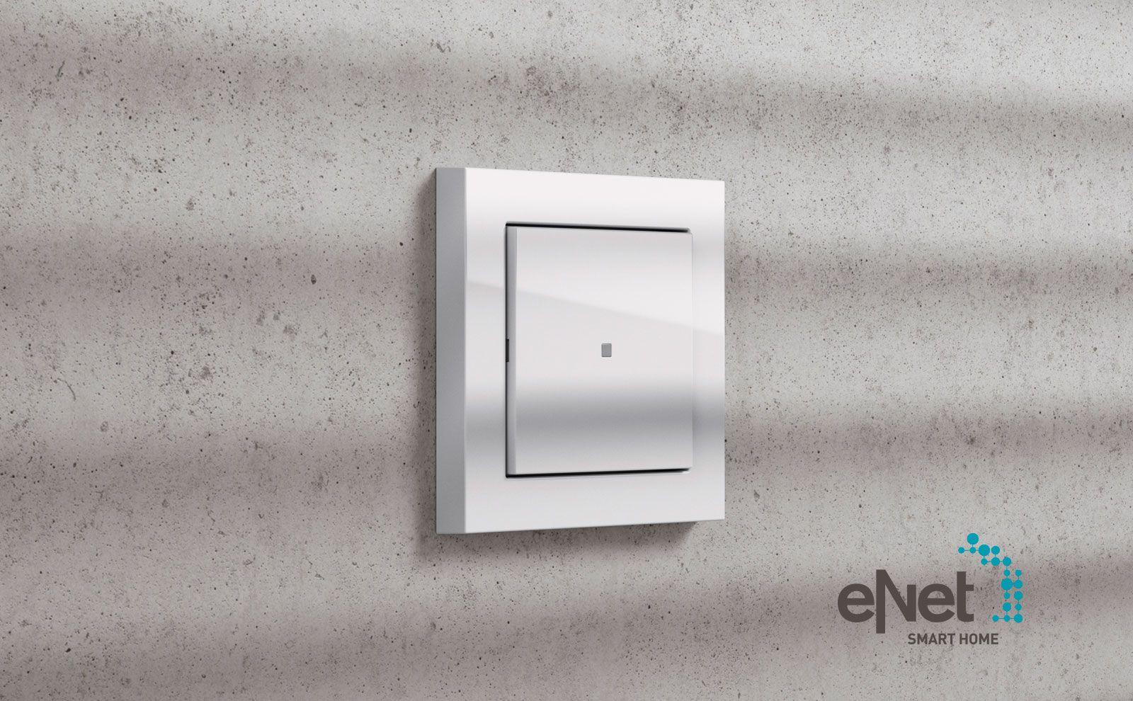 Gira E3 Gira eNet Funk- und Dimmaufsatz Gira eNet SMART HOME Lichtsteuerung