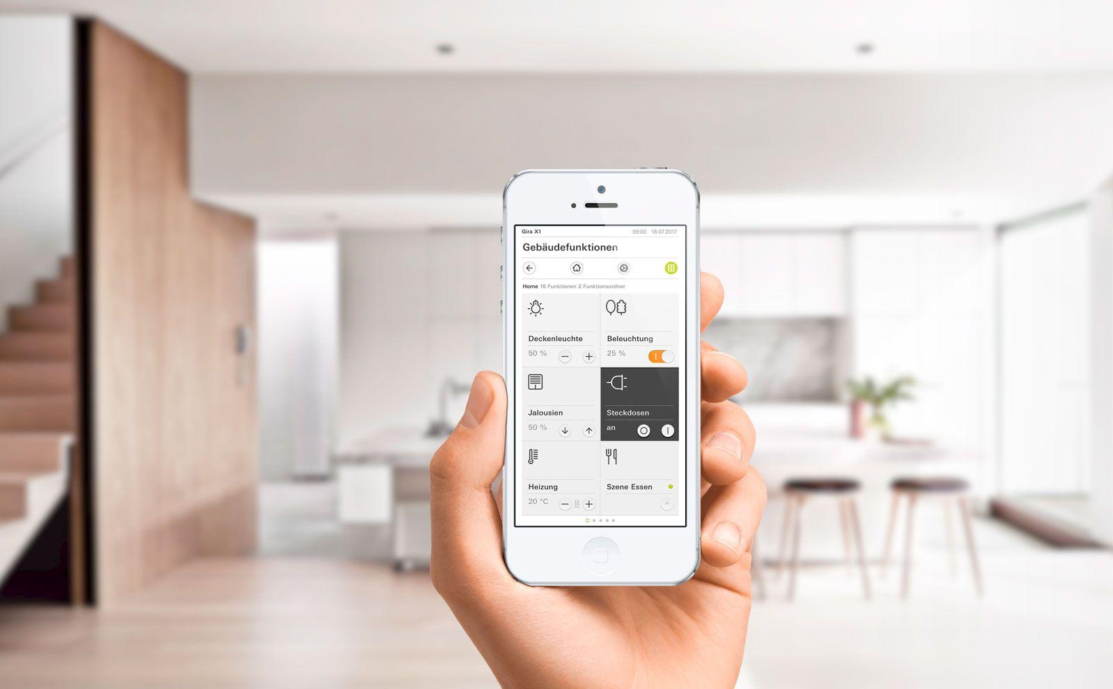 Gira Smartphone App